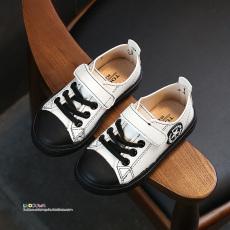 2017 musim gugur model baru Gaya Korea anak-anak sepatu olahraga Sepatu anak laki-