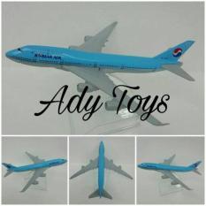 Korean Air Miniatur Pajangan Pesawat Die Cast Model Korea - Msjdof