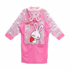 Korean Fun Jas Hujan Rabbit Pink Indonesia Diskon