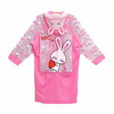Harga Korean Fun Jas Hujan Rabbit Pink Yg Bagus