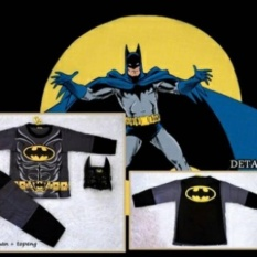 Harga Kostum Batman Topeng Baju Anak Online Jawa Timur