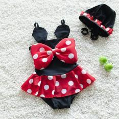 Kostum renang bayi minnie mouse swim suit