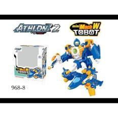 Kps Mainan Mini  Tobot Athlon 2 Mach W Berubah Bentuk 968-8 - Fwh6pu