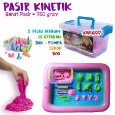 Toko Kreazzi Paket Pasir Kinetik Pink 750 Gram Aksesoris Play Sand Mainan Edukasi Kreazzi Dki Jakarta
