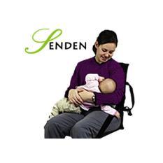 Kursi Lesehan Lipat / Kursi Sandaran Motif Polos - Hitam / Kursi Ibu Menyusui Lipat Portable SENDEN