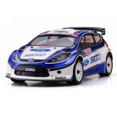 KYOSHO DRX 2010 FORD FIESTA S2000 1/9 18 ENGINE POWERED 4WD RALLY CAR - UY1JU0