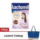 Harga Lactamil Pregnasis Susu Hamil Cokelat 400Gr Bundle 2 Box Free Lactamil Totebag Termahal