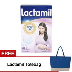 Harga Lactamil Pregnasis Susu Hamil Vanila 400Gr Bundle 2 Box Free Lactamil Totebag Satu Set