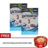 Diskon Lactogrow 3 Happynutri 750 Gr Bundle Isi 2 Box Free Good Time Kaleng Assorted Cookies 190Gr Lactogrow Di Indonesia