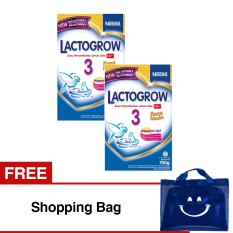 Lactogrow 3 Happynutri Rasa Madu 750 Gr Bundle 2 Gratis Shopping Bag Indonesia Diskon 50