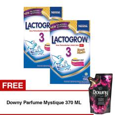 Spesifikasi Lactogrow 3 Happynutri Rasa Madu 750 Gr Bundle Isi 2 Box Free Downy Parfume Mystique 370 Ml Lactogrow Terbaru