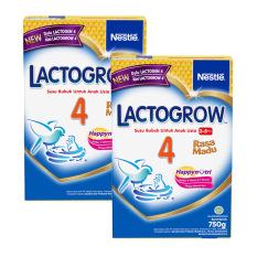 Harga Lactogrow 4 Happynutri Rasa Madu Susu Pertumbuhan 3 5 Tahun Box 750G Bundle Isi 2 Box New