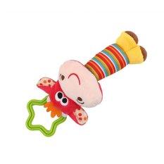 LALANG Cute Deer Wind Chimes Tangan Pegang Mainan Musik (Merah)-Intl