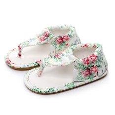 Spesifikasi Lalang Kids Firstwalkers Baby Toddler Prewalker Flip Flops Sandal Floral Intl Lengkap