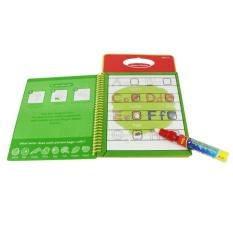 "LALANG Sihir Air Menggambar Buku Intim Lukisan Papan With Pen Mainan Pendidikan Bandung Photo: ""Nomor (Merah)-Intl"