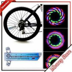 LAMPU WARNA WARNI / Lampu LED Sepeda 32 Colorful Pattern