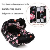 Lantoo Baby Carseat Canopy Cover 3 PC Whole Caboodle, Baby Car Seat Cover Bayi Carrier Canopy Outdoor Kit Oleh Rose Pola-Intl | Lazada Indonesia