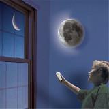 Beli Led Lampu Dinding Penyembuhan Cahaya Bulan Malam Putih Romantis Remote Kontrol International Oem Asli