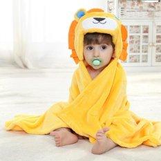 Kualitas Leegoal 3D Singa Bayi Baru Lahir Bayi Berkerudung Handuk Selimut Leegoal