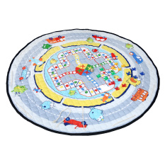 Toko Leegoal Bayi Round Play Rug Anak Anak Kamar Tidur Karpet Round Flight Game Mats Penerbangan Catur Leegoal