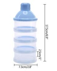 Iklan Leegoal Portable Non Spill Baby Formula Susu Bubuk Dispenser Storage Snack Container Bpa Gratis Biru Intl