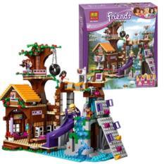 Lego Bela Friends Adventure Camp Tree House ( Rumah Pohon ) - 3E75E3 - Original Asli