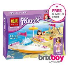 Lego Bela Friends Olivia Speedboat 10134 67Pcs Brixboy - R9wsuf