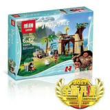 Jual Lego Brick Lepin Moana Ocean Voyage 25004 Isi 221 Pcs Multi Asli