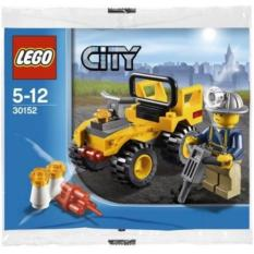 Jual Lego City 30152 Mining Quad Building Toy Child Gift Miner Minifigure Jeep Car Kid Toys Original Promo Ori Brick Motorcar Game Play New Sealed Polybag Antik