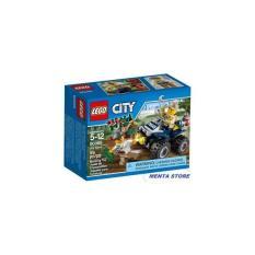 LEGO City # 60065 ATV Patrol Swamp Police Crook Toy Sealed Original