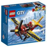 Lego City 60144 Race Plane Set Building Toy Propeller Airplane Pilot Minifigure Town Air Game Play Kid Toys Brick Racer Original Promo Ori New Box Terbaru
