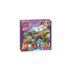 Lego Compatible Bela 10493 Friends Adventure Camp Rafting 325Pcs