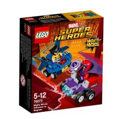 LEGO® DC Comics Super Heroes Mighty Micros: Wolverine Vs. Magneto 76073