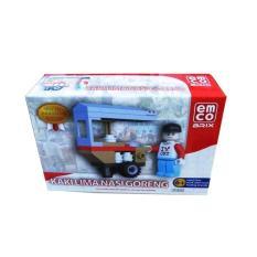 Lego Emco 8653 Kaki Lima Nasi Goreng - Special Edition Indonesia - Dzdntu