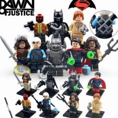 Beli Lego Kw Minifigures Superman Batman Dawn Justice Superheroes Xinh Multi Asli