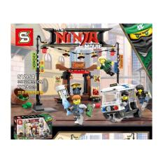 Lego KW SY 954 Ninjago Movie City Chase