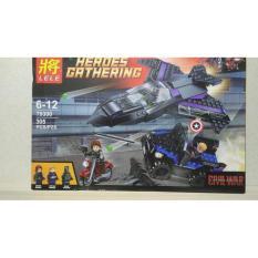 Lego Lele 69300 Heroes Gathering ( Civil War - Captain Amerika ) - Ywdip2