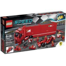 Lego Speed Champ 75913 : F14 T & Scuderia Ferrari Truck