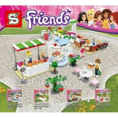 Lego Sy 759 Abcd Friends Food Market Mini Set  - Hiuoxq