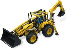 LEGO TECHNIC 8069 : Backhoe Loader