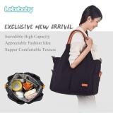 Review Lekebaby Fashion Mummy Maternity Diaper Messenger Bag Ultra Large Capacity Tote Bag Indonesia