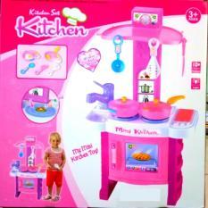 Diskon Leoshop888 Mainan Anak Kitchen Set Masak Masakan Dapur Branded