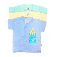 Spesifikasi Libby 3 Pcs Baju Pendek Warna Newborn 3 6M S M L Dan Harga