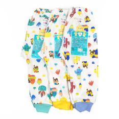 Libby 3Pcs Celana Panjang Motif 3 6 Bulan Libby Diskon