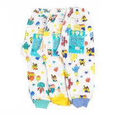 Toko Jual Libby 3Pcs Celana Panjang Motif S M L