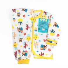 LIBBY Baju Bayi Lengan Panjang & Celana Panjang Motif S,M,L - 1SET