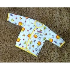 Libby Baju Lengan Panjang Anak Print Size L-  Kuning