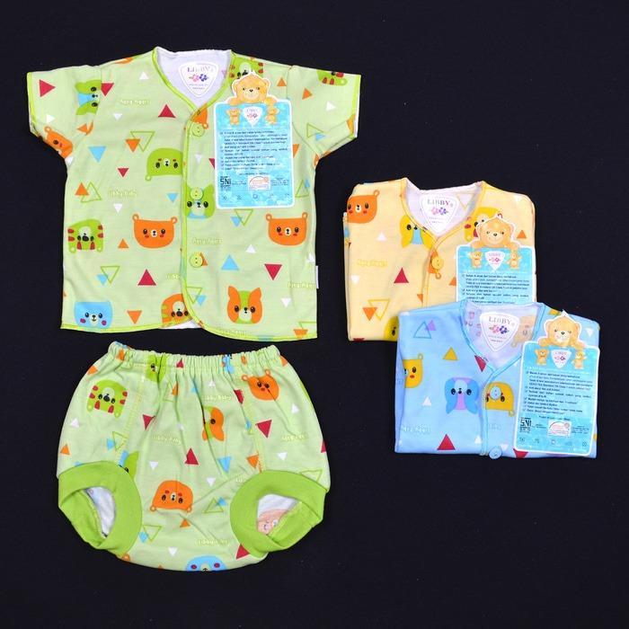 Bandingkan Toko LIBBY Baju Pendek dan Celana Pop Bayi Motif (0-3M) sale 67ce0f91c5