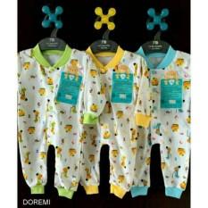 Libby Jumper Panjang Buka Kaki Sleepsuit Baju Bayi Baju Kodok Libby