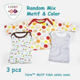 Diskon Besarlibby Premium Sleepsuit Boy Jumper Panjang Tutup Kaki Isi 3 Pcs 6 9 Months